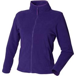 Kleidung Damen Fleecepullover Henbury HB851 Violett