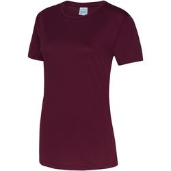 Kleidung Damen T-Shirts Awdis JC005 Burgunder