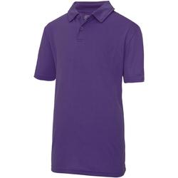 Kleidung Kinder Polohemden Awdis JC40J Violett