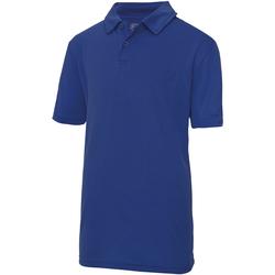 Kleidung Kinder Polohemden Awdis JC40J Royalblau