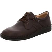 Schuhe Herren Derby-Schuhe Finn Comfort Schnuerschuhe Vaasa Vaasa 002023 kaffee braun