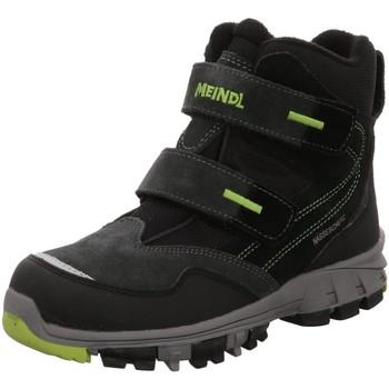 Schuhe Jungen Stiefel Meindl Klettstiefel Polar Fox Junior 7749-22 grau