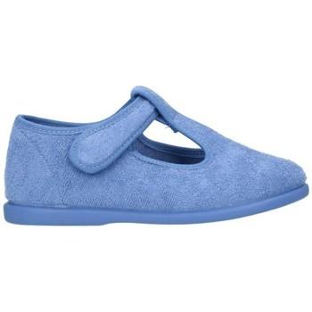 Schuhe Jungen Hausschuhe Batilas 12602V Niño Azul violet