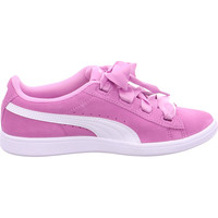 Schuhe Damen Sneaker Low Sneaker Puma Vikky Ribbon Jr ORCHID-PUMA WHITE 002