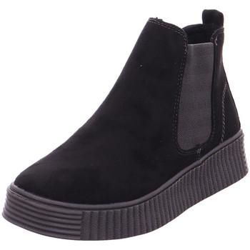 Schuhe Damen Boots Idana Schlupf-RV-Stiefelette Sportbo BLACK 004