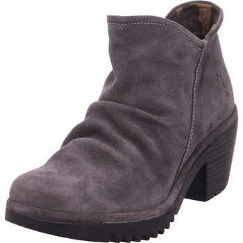 Schuhe Damen Low Boots Fly London WEZ0890FLY grau