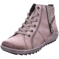 Schuhe Damen Boots Remonte Dorndorf - R1472-42 grau/altsilber/cigar/schw 42