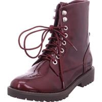 Schuhe Damen Low Boots Pep Step Damen Stiefelette rot