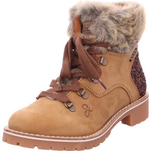 Soccx SCU-1855-8011 tan BRO0149 tan - Schuhe Schneestiefel Damen 99,95