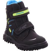 Schuhe Kinder Stiefel Legero - 3-09080-01 SCHWARZ/BLAU