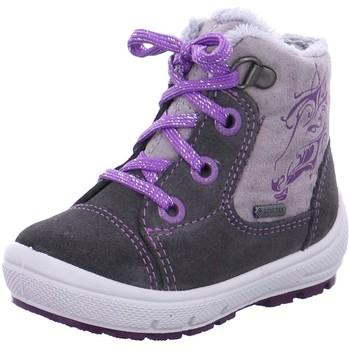 Schuhe Mädchen Babyschuhe Superfit Schnuerstiefel . 1-00312-06 grau