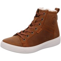 Schuhe Damen Sneaker High Ecco Schnuerstiefel  S7 TEEN 780073/02112 braun