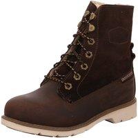 Schuhe Damen Schneestiefel Dockers by Gerli Stiefeletten 39SI306-402320 braun