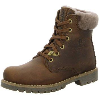 Schuhe Damen Schneestiefel Panama Jack Stiefeletten Napa Grass Cuero Panama 03 Igloo B13 braun