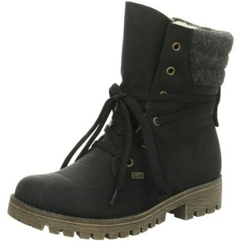 Schuhe Damen Schneestiefel Rieker Stiefeletten 78531.00 schwarz