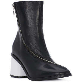Schuhe Damen Ankle Boots Juice Shoes TEVERE NERO Nero
