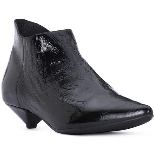 Juice Shoes NAPLAK NERO Nero - Schuhe Ankle Boots Damen 139