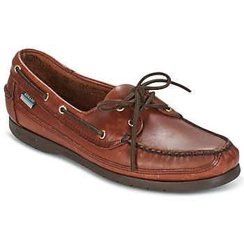 Schuhe Herren Bootsschuhe Sebago SCHOONER Braun