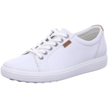 Schuhe Damen Sneaker Low Ecco 430003/01007 weiß