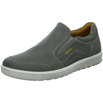 Schuhe Herren Slip on Ecco Slipper  ENNIO grau