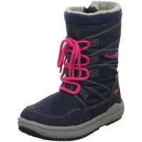 Schuhe Mädchen Schneestiefel Kangaroos Winterstiefel NV 1458A blau