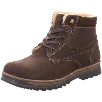 Schuhe Herren Boots Longo Bequem WF 1005394 3 braun