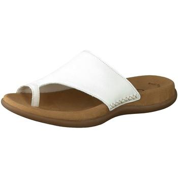 Schuhe Damen Pantoffel Gabor Pantoletten 03.700.21 weiß