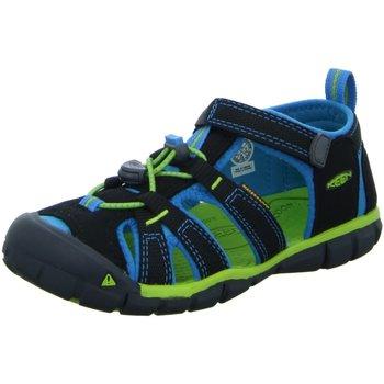 Schuhe Jungen Sneaker Low Keen Schuhe Sandalette SEACAMP II CNX 1016434 schwarz