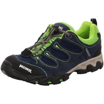 Schuhe Jungen Sneaker Low Meindl Bergschuhe NV 2057 09 blau