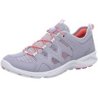 Schuhe Damen Sneaker Low Ecco Schnuerschuhe TERRACRUISE 841113-59105-terracruise-lite grau