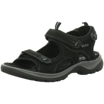 Schuhe Damen Sandalen / Sandaletten Ecco Sandaletten Offroad 822043-02001 schwarz