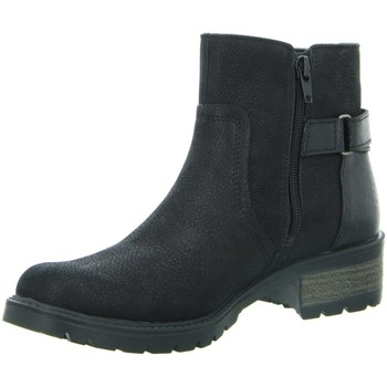 Schuhe Damen Boots Diverse Stiefeletten Beq.Schnür/Schlupfstf 1005475 schwarz