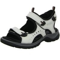 Schuhe Damen Sportliche Sandalen Ecco Sandaletten Offroad 822043-02152 weiß