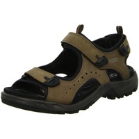 Schuhe Herren Sportliche Sandalen Ecco Offene Sandalette OFFROAD 822044 02114 braun