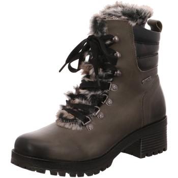 Schuhe Damen Schneestiefel Bugatti Stiefeletten 421323521219-1110 grau