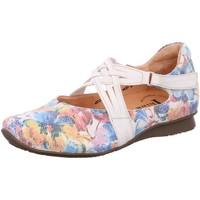 Schuhe Damen Ballerinas Think Slipper CHILLI 10-Spangensch 6-86109-95 bunt