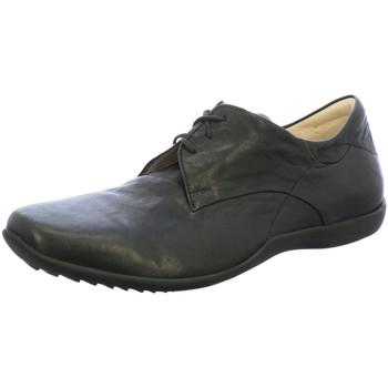Schuhe Herren Slipper Think Schnuerschuhe 3-000275-0000 schwarz