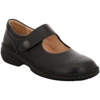 Schuhe Damen Ballerinas Finn Comfort Slipper Laval Laval 2058307099 schwarz