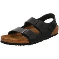 Schuhe Herren Sandalen / Sandaletten Birkenstock Offene Milano 034191 schwarz
