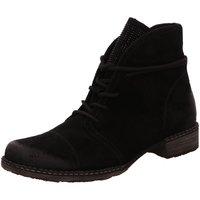 Schuhe Damen Stiefel Remonte Dorndorf Stiefeletten D4397-02 schwarz