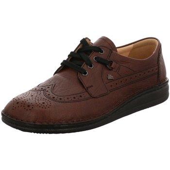 Schuhe Herren Derby-Schuhe Finn Comfort Schnuerschuhe YORK braun