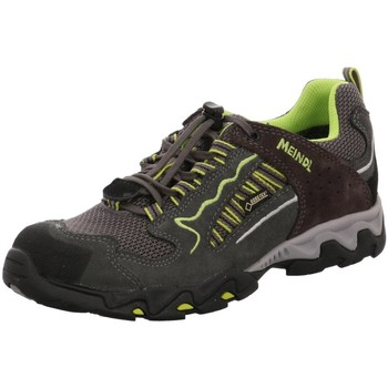 Schuhe Jungen Sneaker Low Meindl Bergschuhe anthrazit-pistazie-schwarz 2062-31 grau