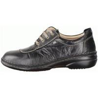 Schuhe Damen Sneaker Low Finn Comfort Schnuerschuhe LEXINGTON 02056-211099 211099 schwarz