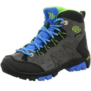 Schuhe Jungen Wanderschuhe Brütting Bergschuhe MOUNT BONA HIGH KIDS 231049 grau
