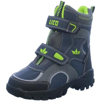 Schuhe Jungen Sneaker High Brütting Klettstiefel Allwetterstiefel 720240 grau