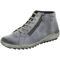 Schuhe Damen Sneaker High Remonte Dorndorf Stiefeletten NV R1470-14 blau
