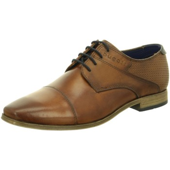 Schuhe Herren Richelieu Bugatti Schnuerschuhe Morino cognac 312420012100-6300 braun