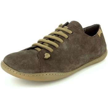Schuhe Herren Sneaker Low Camper Schnuerschuhe 17665-011 braun