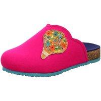 Schuhe Damen Hausschuhe Think DUFDE 1-81744-30 pink