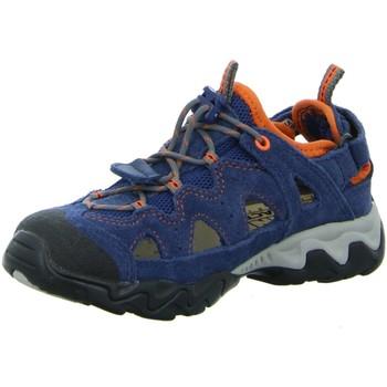 Schuhe Jungen Sneaker Low Meindl Bergschuhe NV 2056-09 blau